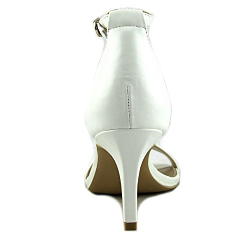 Bandolino Women's Madia Heeled Sandal White exclusive for sale QYbuecLTW
