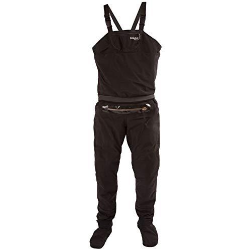 KOKATAT Men's Gore-Tex Whirlpool Bib w/ Relief Zipper & Socks Black M