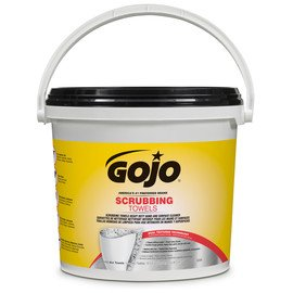 (GOJO 6398 Scrubbing Towels 170 Count Wipes 1/EA Bucket)
