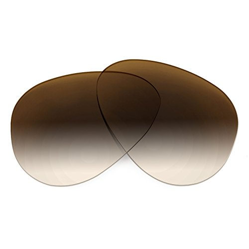 Revant Replacement Lenses for Ray Ban Aviator Large 55mm RB3025 Brown - Brown Rb3025 Gradient