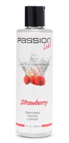 Sex Lubricant 8 oz Lube Strawberry Flavored Includes 5%''Pleasure Lake'' Coupon