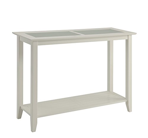 Cheap Convenience Concepts Carmel Console Table, White