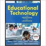 Book Educational Tech for Learning & Teaching (4th, 11) by Newby, Timothy J - Stepich, Donald - Lehman, James - Russell, [Paperback (2010)]
