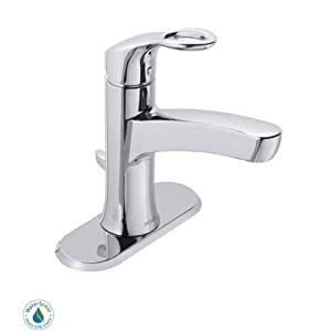 free shipping Moen 84900 Single Handle Single Hole Bathroom Faucet from the Kleo Collection, Chrome