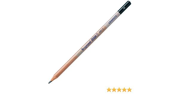 Bruynzeel 1605 High Grade Hexagonal Burotek Pencils Box of 12-1B