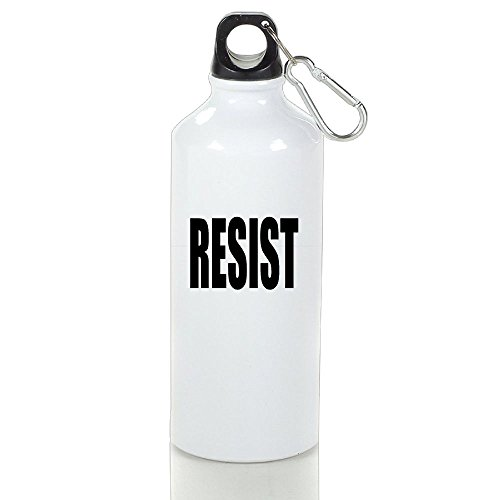 Xihuan RESIST Aluminum Outdoor Sports Bottle Perfect For Yoga Stoup White 600ml (Dallas Cowboys Cross Gloves)