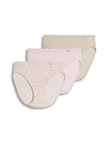 Elance 3 Pack Brief - Jockey Women's Underwear Supersoft French Cut - 3 Pack, Cosmetics, 10
