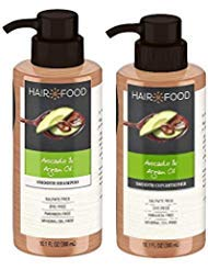 Hair Food - Avocado & Argan Oil Shampoo & Conditioner (10.1 FL OZ (300) Each) - Set of 2 ()