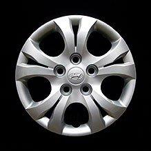 OEM genuino cubierta de la rueda Hyundai - profesionalmente refinished como nuevo - 15 en Tapacubos para Elantra 2010 a 2016: Amazon.es: Coche y moto
