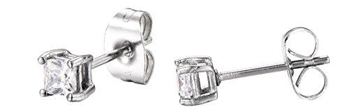 Stainless Princess Zirconia Regetta Jewelry