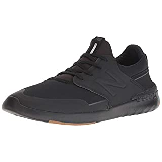 New Balance Men's 659v1 All Coast Skate Shoe, Black/Gum, 5 D US
