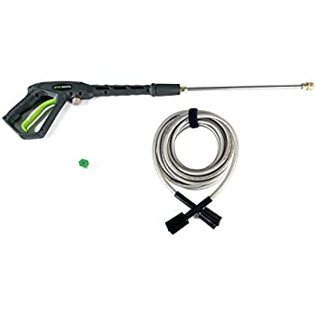 earthwise pressure washer how to use