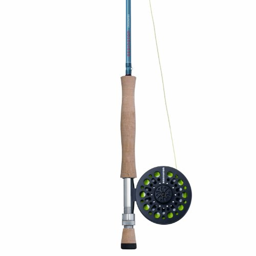 Redington Crosswater Outfit Reel, Line Weight-8, 9-Feet, 4-Piece, Blue