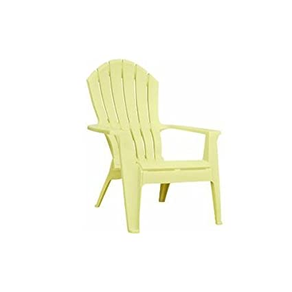 Ordinaire Adams 8371 10 3700 Resin Ergo Adirondack Chair, Banana