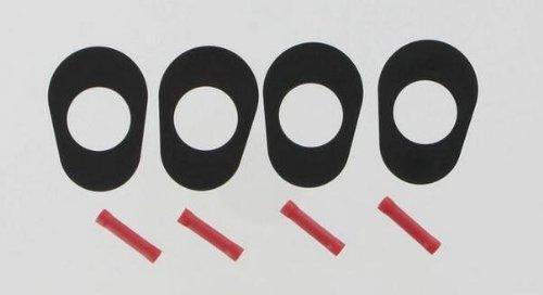 Targa Turn Signal Adapter Plates Cat Eye for Kawasaki GPZ ZX ZZR (Eye Cats Adapter)