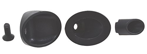 (RPM 70292 Side Exit Mock Exhaust Tips, Black)