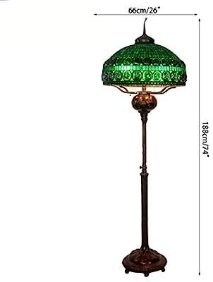 Amazon.com: Tiffany Style Floor Standing Lamp,74 Inch Tall ...