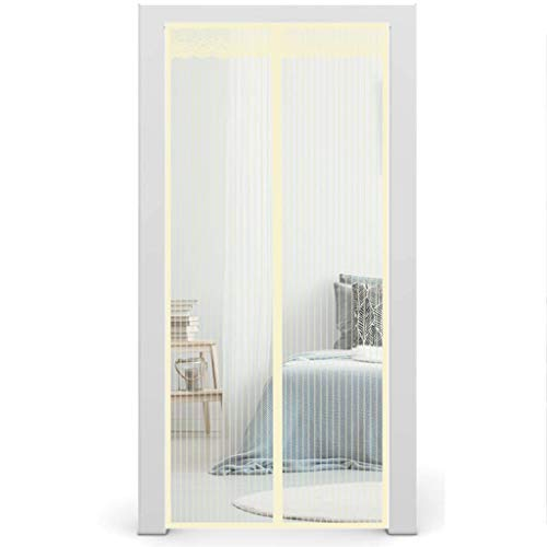 Magnetic Screen Door, Heavy Duty Mesh Magnet Curtain, Easy Install for Keep Bugs Fly Out, Fits Door Size up to 30