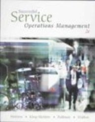 Successful Service Operations Management (with Student CD-ROM, Microsoft Project 2007, InfoTrac Printed Access Card)