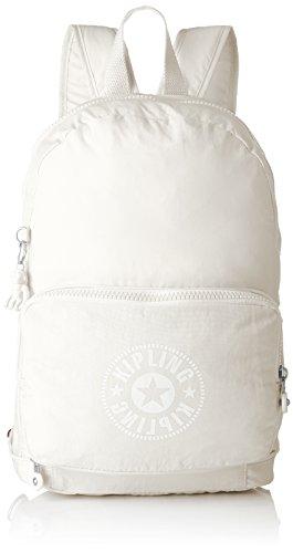 Kipling Lively FOLD White Daypack Lively NIMAN Casual 49 21 cm liters Black Classic White Black RrxRqf