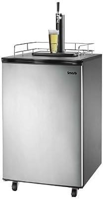 Versonel Freestanding Full Size Kegerator Keg Fridge Beer Dispenser Stainless Steel SPP155BDSS