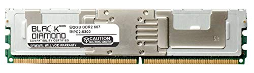 (2GB RAM Memory for IBM Intellistation Z Pro Type 9228 All Models Black Diamond Memory DDR2 Fully Buffered FBDIMM 240pin PC2-5300 667MHz Upgrade )
