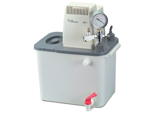 Lab Companion AAH71016U Model VE-11 Aspirator Pump with Tank, 9.5-Liter Capacity, 120V, 18 LPM
