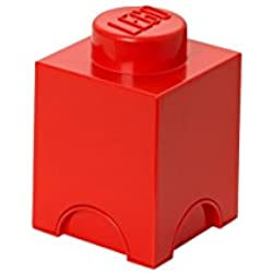 LEGO Storage Brick 1 Bright Red