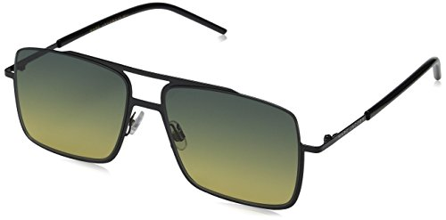 Marc Jacobs Men's MARC 35/S Black/Green Yellow - Marc Green Sunglasses Jacobs
