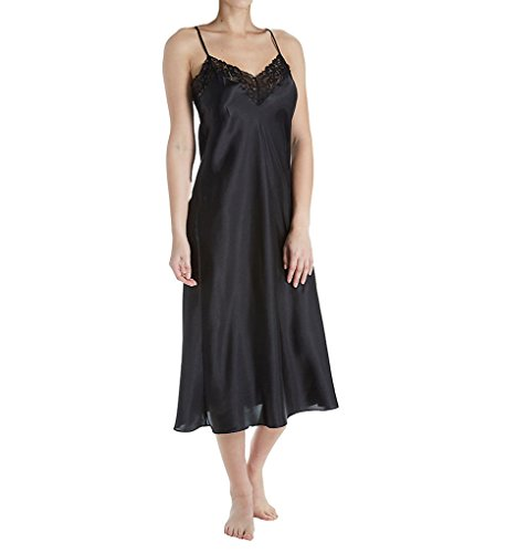 In Bloom by Jonquil Mirage Satin Long Gown (MRG020) S/Black