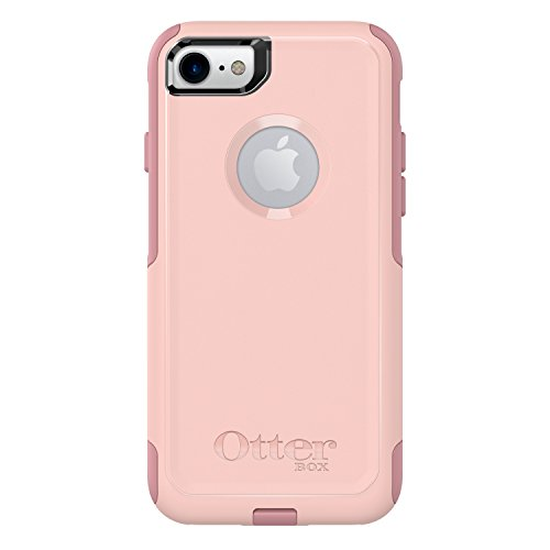 OtterBox COMMUTER SERIES Case for iPhone 8 & iPhone 7 (NOT Plus) - Retail Packaging - BALLET WAY (PINK SALT/BLUSH) (Otterbox Defender Gold Iphone 6)