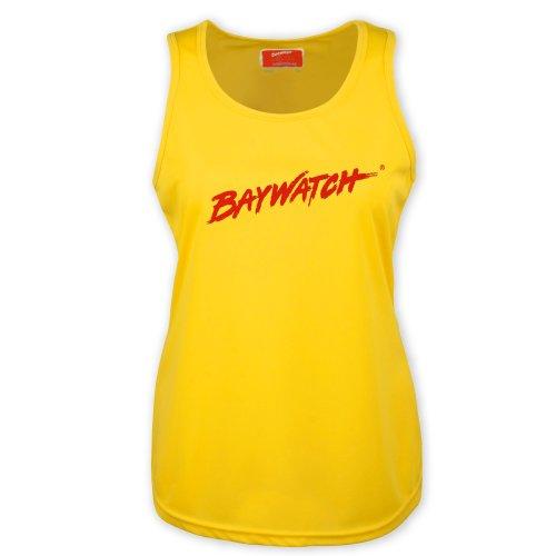 LifeguardgearDamen Top, Einfarbig Gelb Gelb