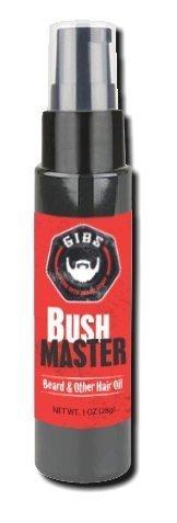 GIBS Bush Master Beard, Hair and Tattoo Oil, 1 Ounce