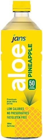 Jans Aloe Drink (Pineapple, 5 x 500 ml)