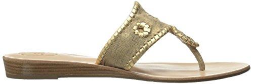 Jack Etched 10 Women's Bronze M US Sandal Bronze Wedge Capri Rogers Demi UqUtr1w