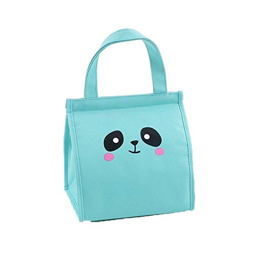 I'll NEVER BE HER Fashion Storage Bags Portable Waterproof Thickness Picnic School Lunch Bag Office 2019 Hot Storage Lunch Box #3M12,M,Sky Blue