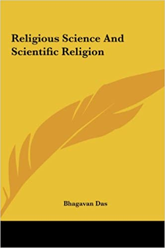 Religious Science And Scientific Religion