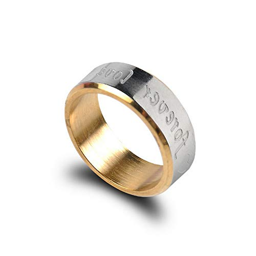 Monowi Titanium Steel Forever Love Men Women Promise Couple Rings Party Jewelry Gift | Model RNG - 20046 | 9