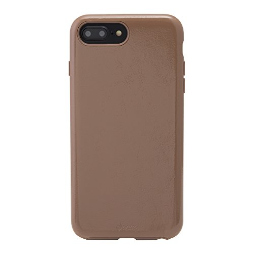iPhone 8 PLUS, 7 PLUS, 6 PLUS, Sonix COCOA PATENT LEATHER Cell Phone Case (brown) - Military Drop Test Certified - Patent Leather Series for Apple (5.5