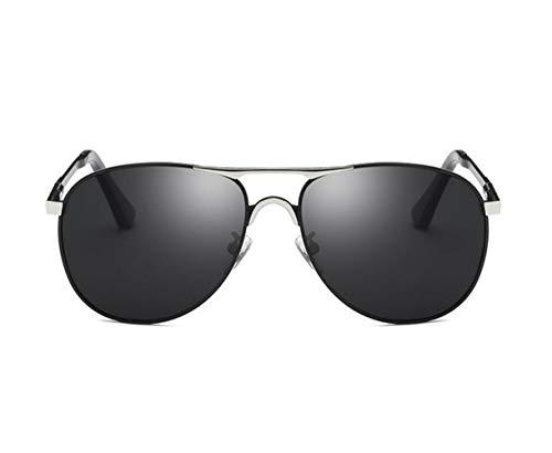 la protección sol Conducción FlowerKui Hombres aire sol de pesca para polarizadas al Silver libre de gafas Moda Gafas de UV400 Mujeres qaPfqz6