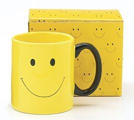 Smiley Happy Face Mug Coffee Cup Great Gift -