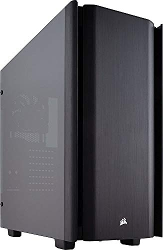 (CORSAIR Obsidian 500D Mid-Tower Case, Smoked Tempered Glass, Aluminum)