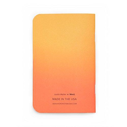 Word. Notebooks Artist - Justin Maller (3-pack) Photo #2