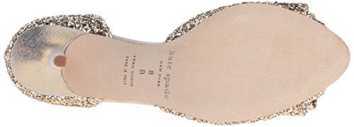 Dress new kate Gold Sela Glitter spade Women's york Sandal 5xawSXa