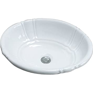 Barclay Lisbon Drop In Basin. Barclay Lisbon Drop In Basin   Bathroom Sinks   Amazon com