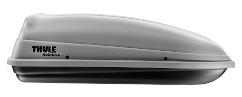 - Thule 682 Sidekick Rooftop Cargo Box,Grey