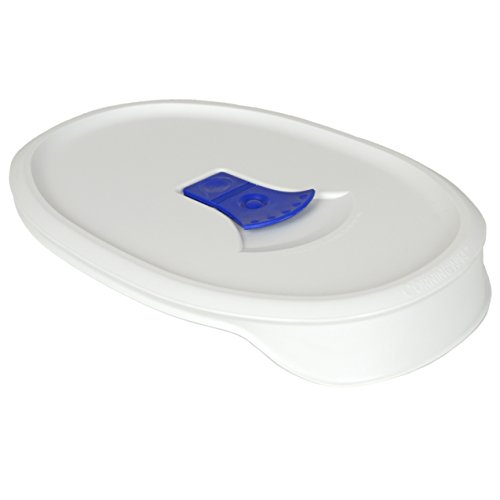 Take Corningware F-23-VPC 23oz French White Oval Pop-Ins Vented Lid (2 Pack) compare