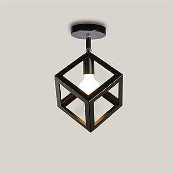 CNMKLM Luz de lámpara de techo LOFT Vintage dirección ...