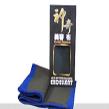 ... de toallas Cuidado Mitt Guante Amarillo vehículo auto mágica de la arcilla de microfibra esponja suave Toallas Lavadora Cuidado M: Amazon.es: Hogar