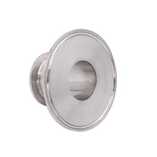 Dernord Sanitary Concentric Reducer Tri Clamp Clover Stainless Steel 304 Sanitary Fitting End Cap Reducer (Tri Clamp Size: 3 inch x 1.5 inch) by Dernord (Image #3)